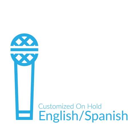 Customized On Hold English/Spanish