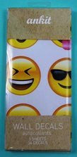 Emoji Wall Decal Stickers for Windows or Wall decor