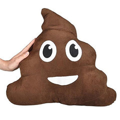 "Large Emoji 18"" Poop Pillow"