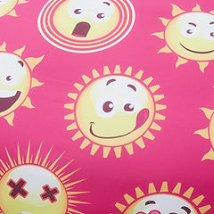 Emoji 3 PCS Pink- Duvet Cover Sets Super Soft (Queen)