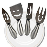 Emoji Cheese Knife Dinnerware Set