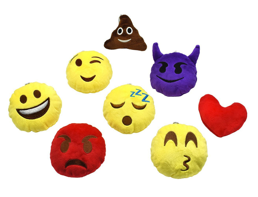 Emoji Extreme Pillow set of 8-Size:10*10*3 cm