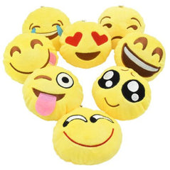 Mini Emoji Pillow Set of 8