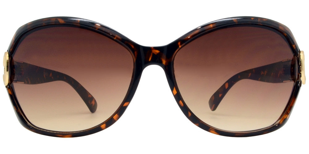 Wholesale - 1880 - Small Butterfly with Metal Loop Sunglasses - Dynasol Eyewear