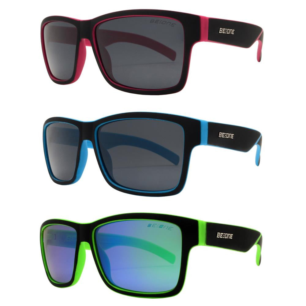 Dynasol Eyewear - Wholesale Sunglasses - PLJ 3004 - Junior Classic Sports Horn Rimmed Polarized Sunglasses - sunglasses