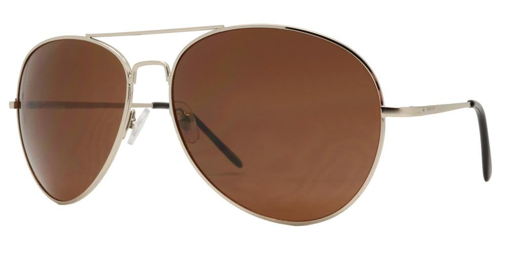 Wholesale - 5145 Mixed - Classic Metal Oval Shaped Sunglasses - Dynasol Eyewear