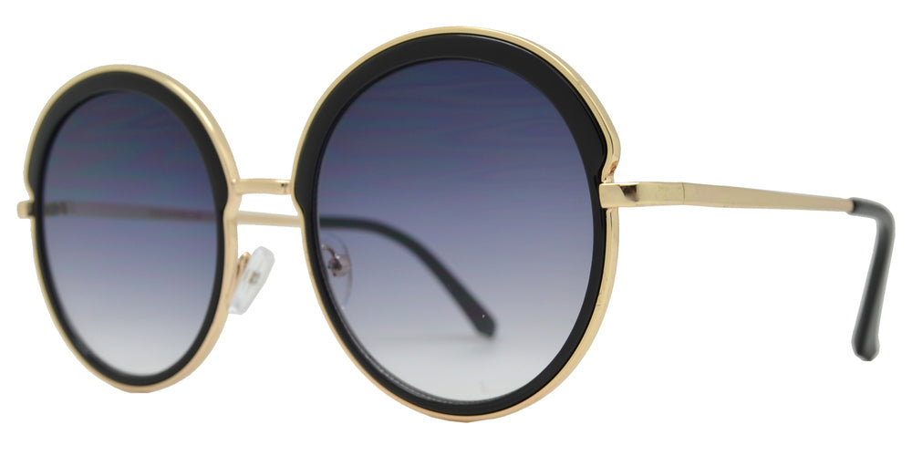 Wholesale - 7000 - Metal Round Sunglasses with Flat Lens - Dynasol Eyewear