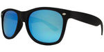 Wholesale - 7110 Black Spectrum - Classic Horn Rimmed Color Spectrum Lens Plastic Sunglasses - Dynasol Eyewear