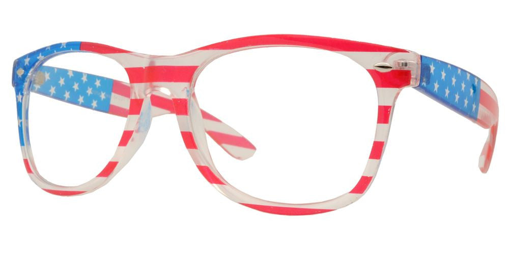 Dynasol Eyewear - Wholesale Sunglasses - 7110 Flag Clear - sunglasses