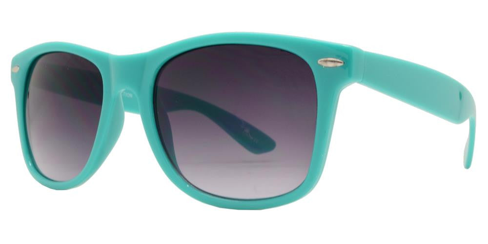 Wholesale - 7110 R - Classic Horn Rimmed Multi Color Plastic Sunglasses - Dynasol Eyewear