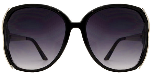 Wholesale - 7275 - Large Butterfly Women's Cut Out Sunglasses - Dynasol Eyewear