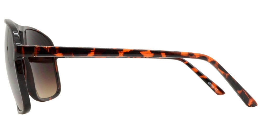 Wholesale - 7383 - Square Retro Wholesale Plastic Sunglasses - Dynasol Eyewear