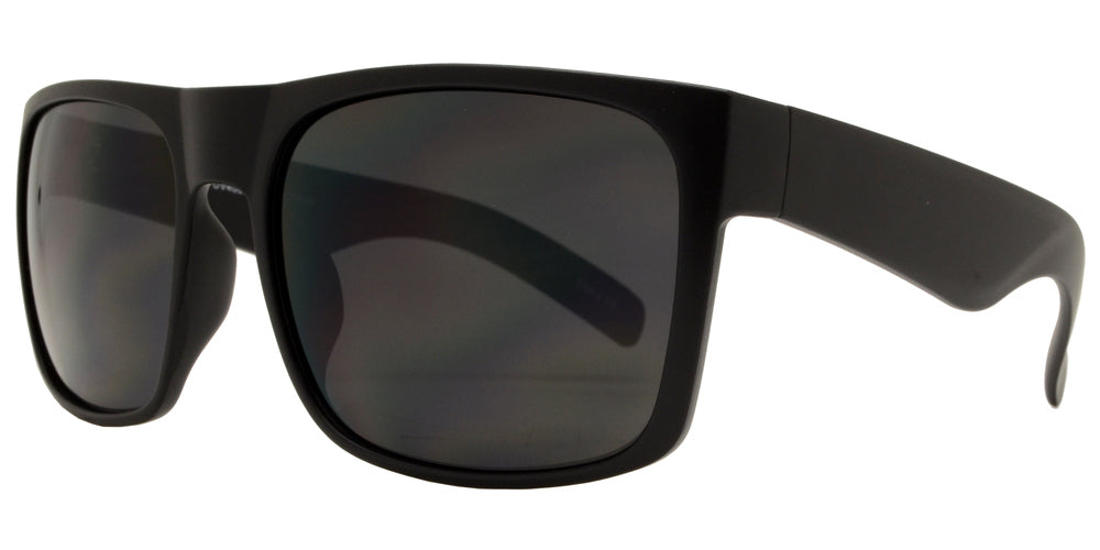 Wholesale - 7633 - Classic Square Sports Bulk Sunglasses - Dynasol Eyewear