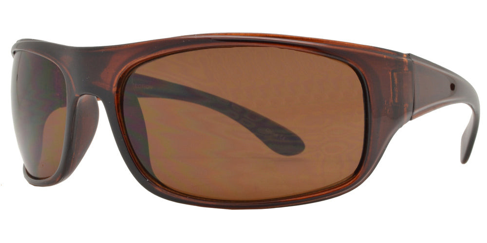 Wholesale - 7688 - Classic Sports Wrap Around Sunglasses - Dynasol Eyewear