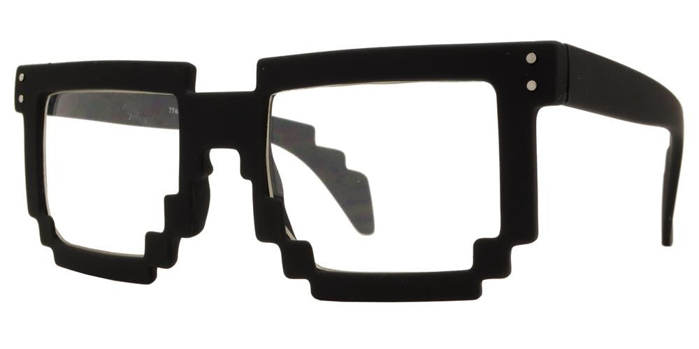 Wholesale - 7748 - Video Game Block 8-bit Pixel Sunglasses - Dynasol Eyewear