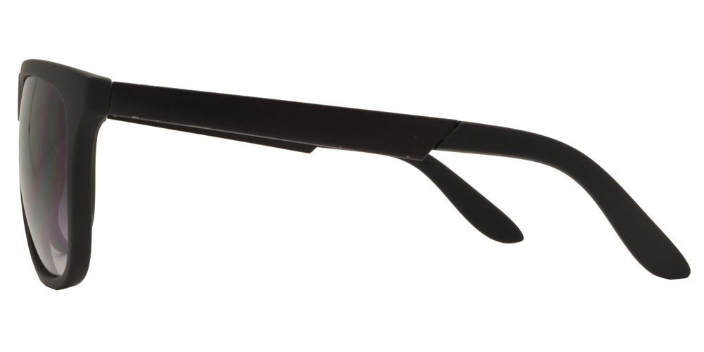 Wholesale - 7854 - Fashion Flat Top Plastic Sunglasses with Metal Temple - Dynasol Eyewear