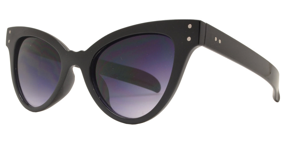 Dynasol Eyewear - Wholesale Sunglasses - 7969 - Women's Vintage Plastic Cat Eye Sunglasses - sunglasses