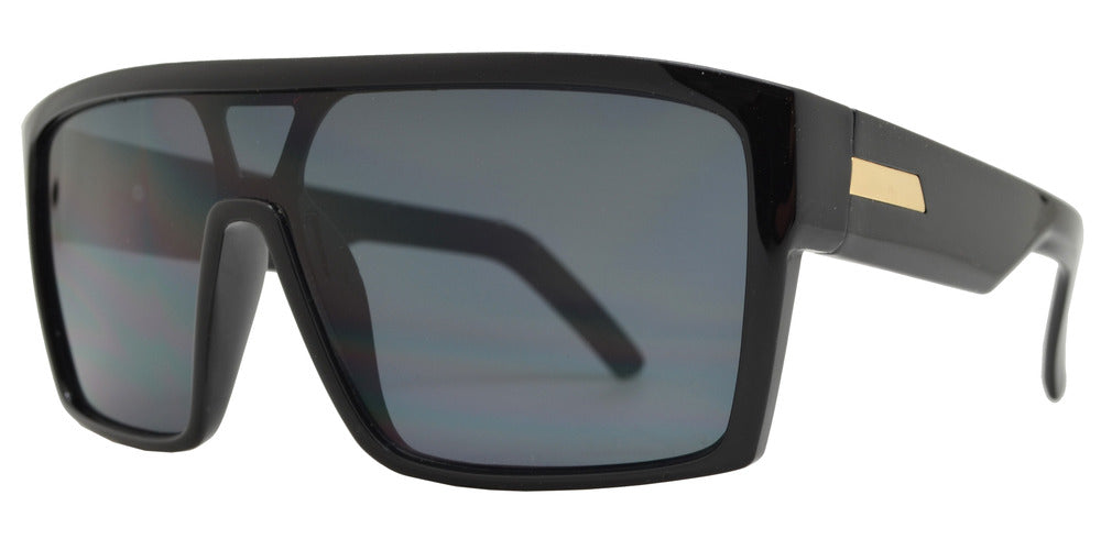 Wholesale - 7988 - Plastic One Piece Shield Sunglasses - Dynasol Eyewear