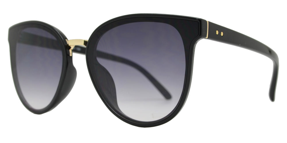 Wholesale - 8821 - Horn Rimmed Plastic Cat Eye Sunglasses - Dynasol Eyewear