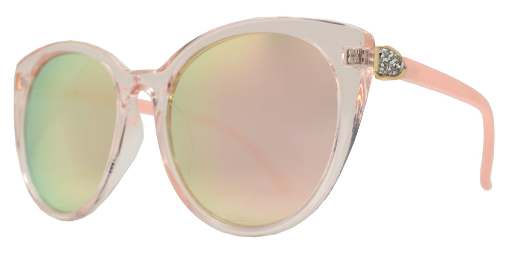 8840 - Fashion Cat Eye Sunglasses with Rhinestones