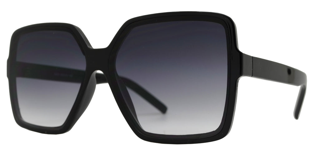 8865 - Square Plastic Fashion Sunglasses