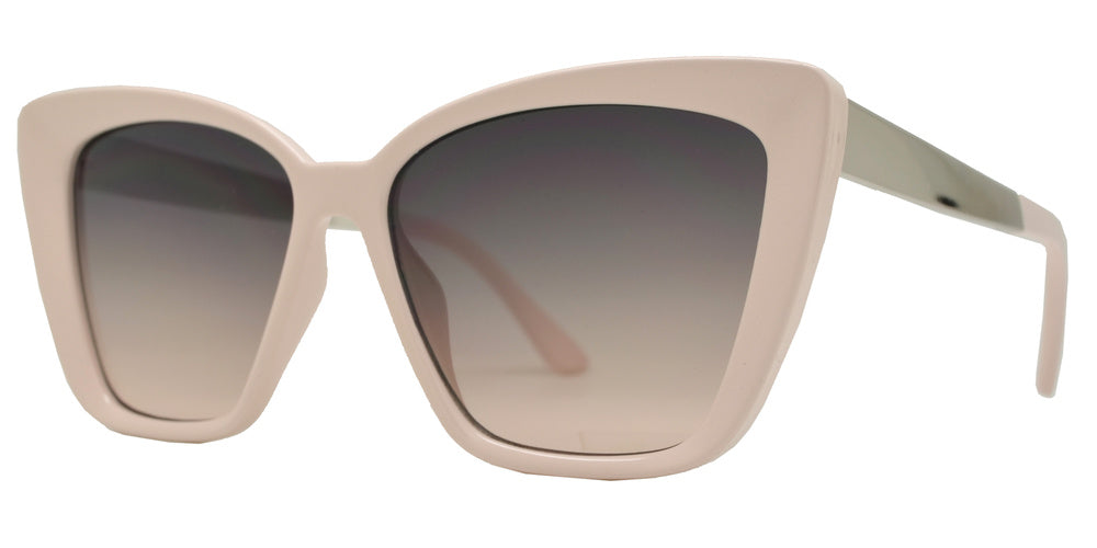 8873 - Plastic Box Cat Eye Sunglasses