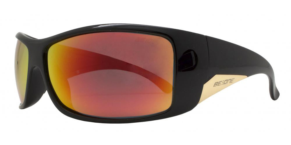 Dynasol Eyewear - Wholesale Sunglasses - PL Charlie - Polarized Men Classic Sport Wrap Around Plastic Sunglasses - sunglasses