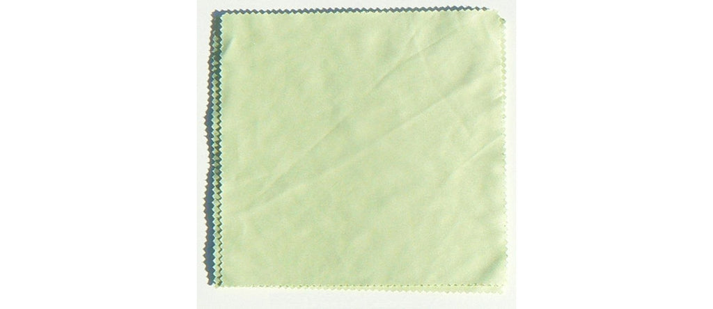 Green Microfiber Cleaning Cloth