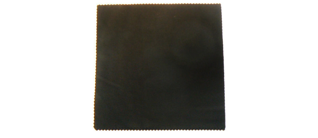 Wholesale - Black Microfiber Cleaning Cloth - Dynasol Eyewear