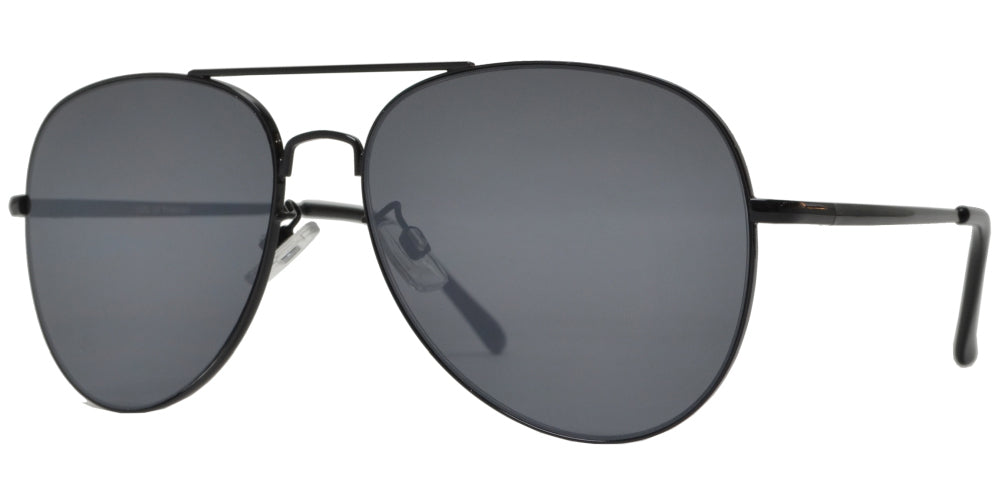 FC 6516 - Oval Shaped Thin Stainless Frame Sunglasses