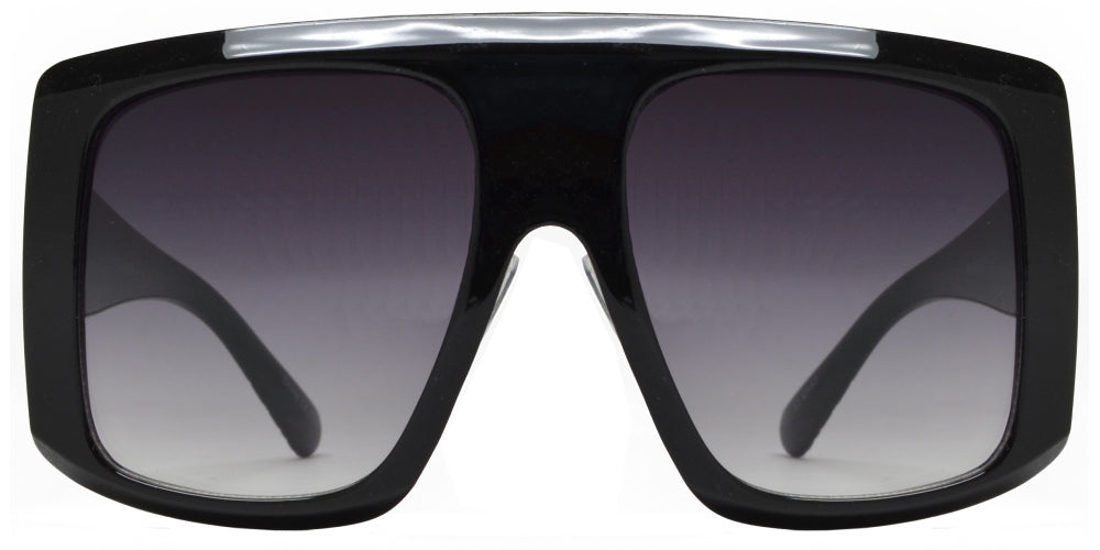 8890 - Fashion Plastic Flat Top Sunglasses