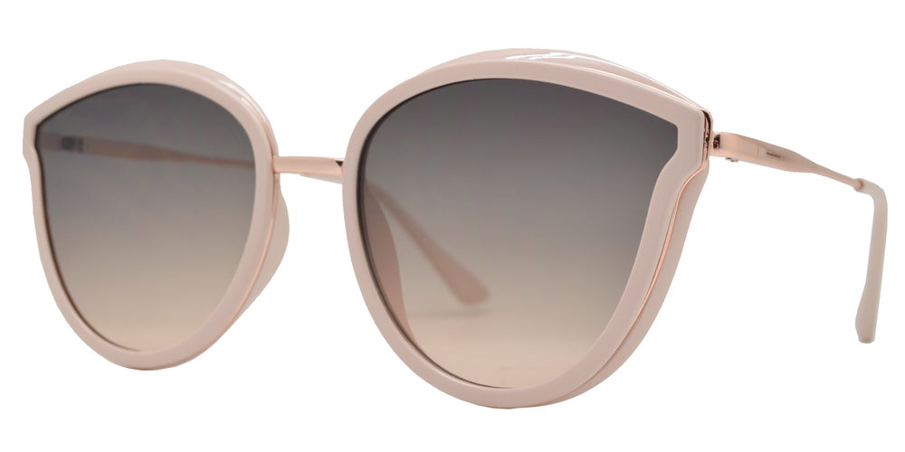 8823 - Women's Plastic Cat Eye Sunglasses