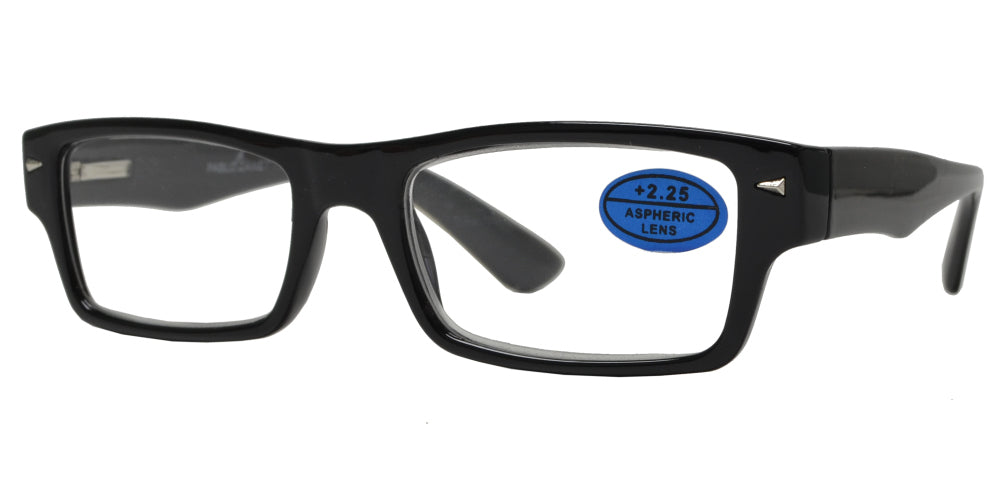 RS 1458 - Rectangular Plastic Reading Glasses