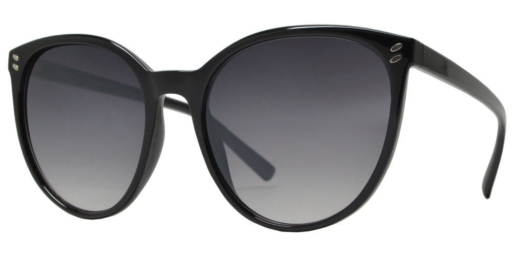 FC 6425 - Women's Large Cat Eye Plastic Sunglasses