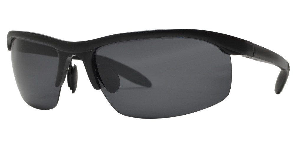 XD PL 048 - Polarized Aluminum-Magnesium Alloy Full Frame Sports Sunglasses for Men