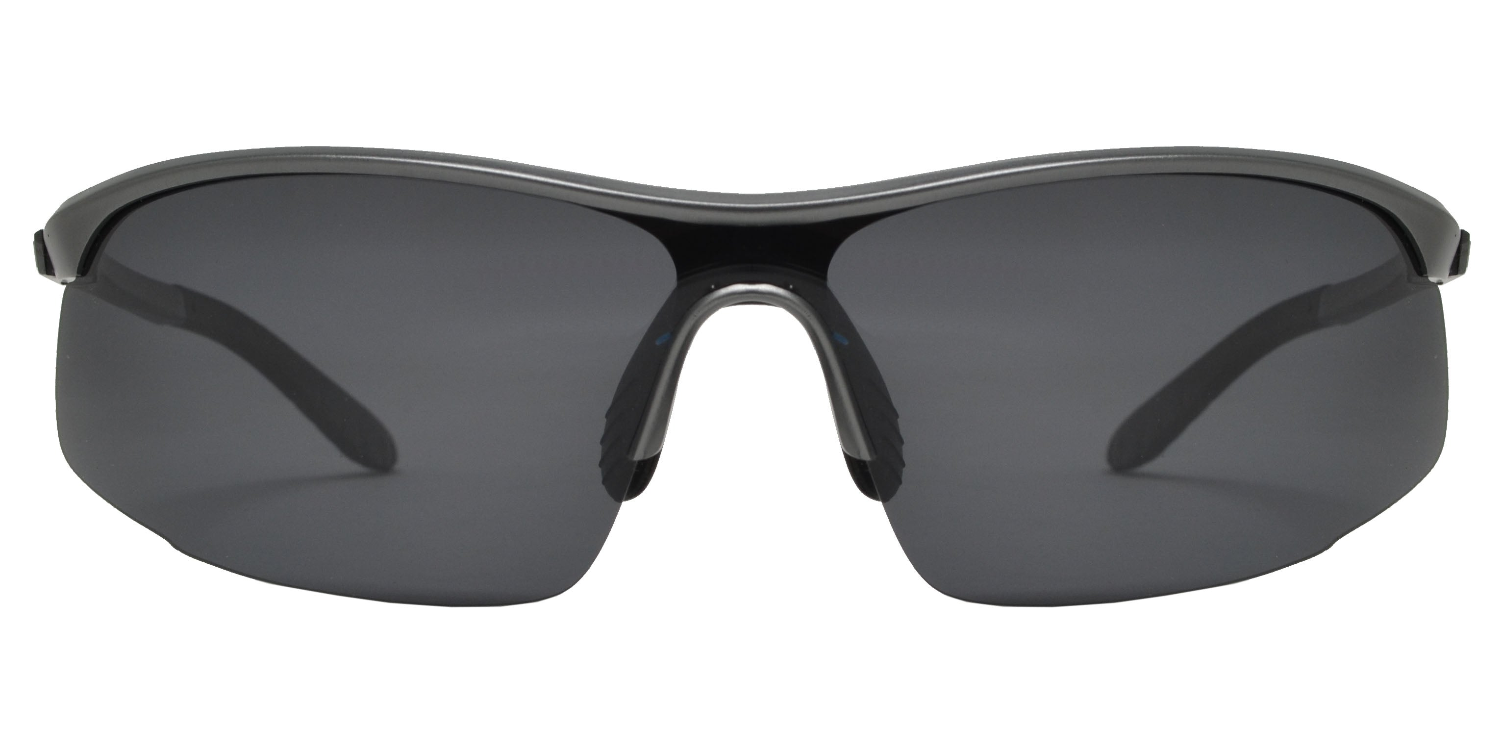XD PL 300 - Polarized Aluminum-Magnesium Alloy Full Frame Semi Rimless Sunglasses
