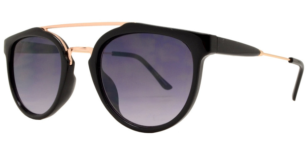 Wholesale - FC 6282 - Retro Round Key Hole Plastic Sunglasses - Dynasol Eyewear