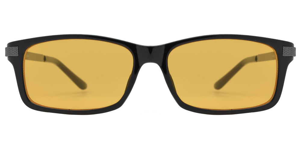 Wholesale - CRS 1018 - Rectangular Plastic Computer Tinted Glasses - Dynasol Eyewear