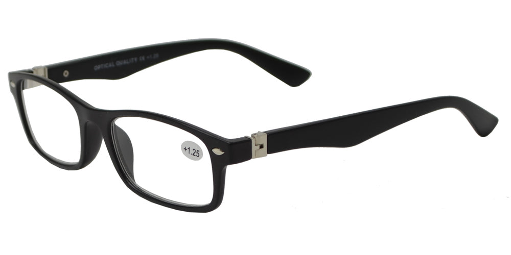 Wholesale - RS 1155 - Plastic Rectangle Reading Glasses - Dynasol Eyewear