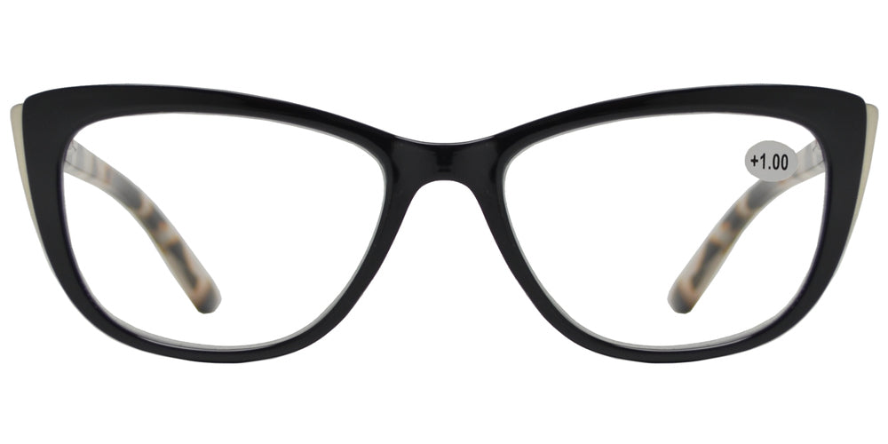 Wholesale - RS 1200 - Plastic Cat Eye Reading Glasses - Dynasol Eyewear