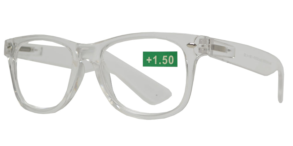 Wholesale - RS 1008 - Classic Plastic Reading Glasses with Spring Hinge - Dynasol Eyewear