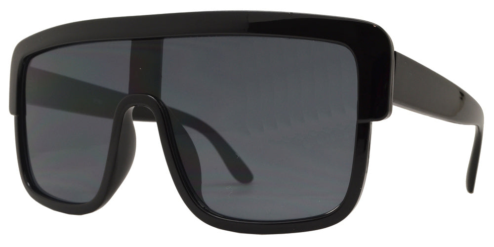Wholesale - 8760 - Oversize Plastic Shield Sunglasses - Dynasol Eyewear