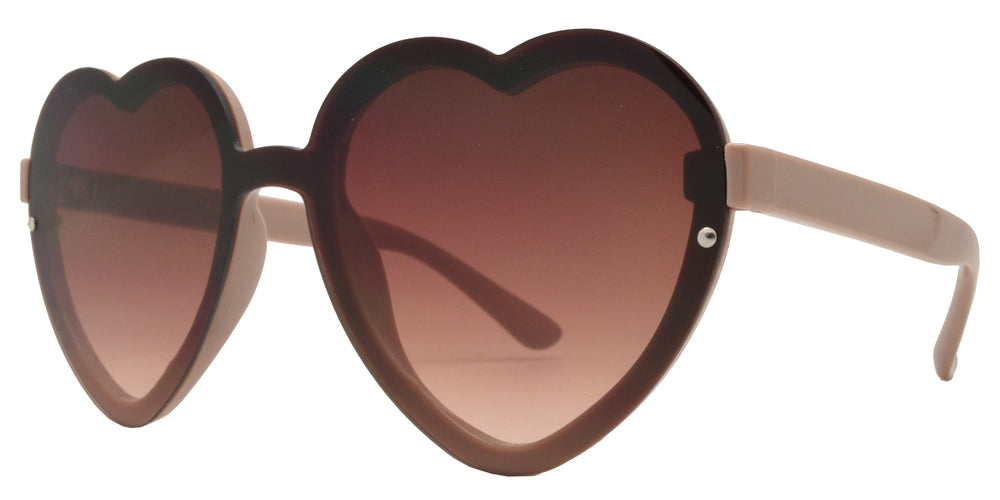 Dynasol Eyewear - Wholesale Sunglasses - 8769 - Wholesale Women's Heart Sunglasses - sunglasses