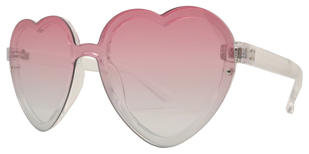 Wholesale - 8769 - Wholesale Women's Heart Sunglasses - Dynasol Eyewear