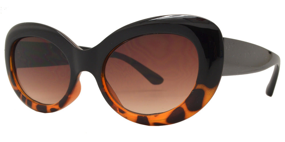 Wholesale - 8768 - Round Cat Eye Wholesale Sunglasses - Dynasol Eyewear