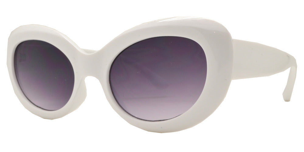 Dynasol Eyewear - Wholesale Sunglasses - 8768 - Round Cat Eye Wholesale Sunglasses - sunglasses