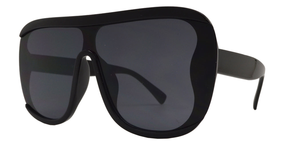 8778 - Wholesale Plastic Oversized Sunglasses