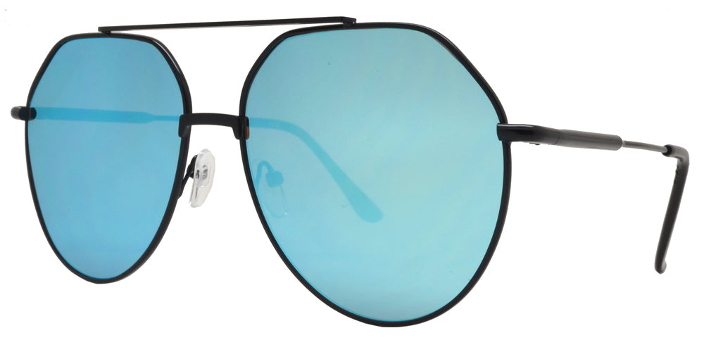 8773 - Metal Aviator Sunglasses