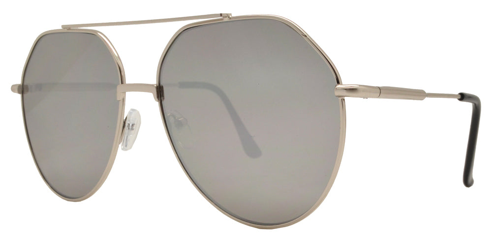 8773 - Metal Round Sunglasses