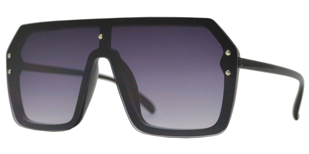 7999 - Fashion Flat Top One Piece Sunglasses